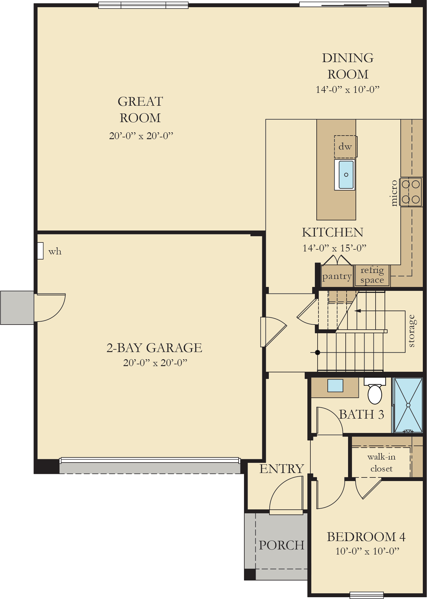 Orchard Heights | Residence 1 First Floor