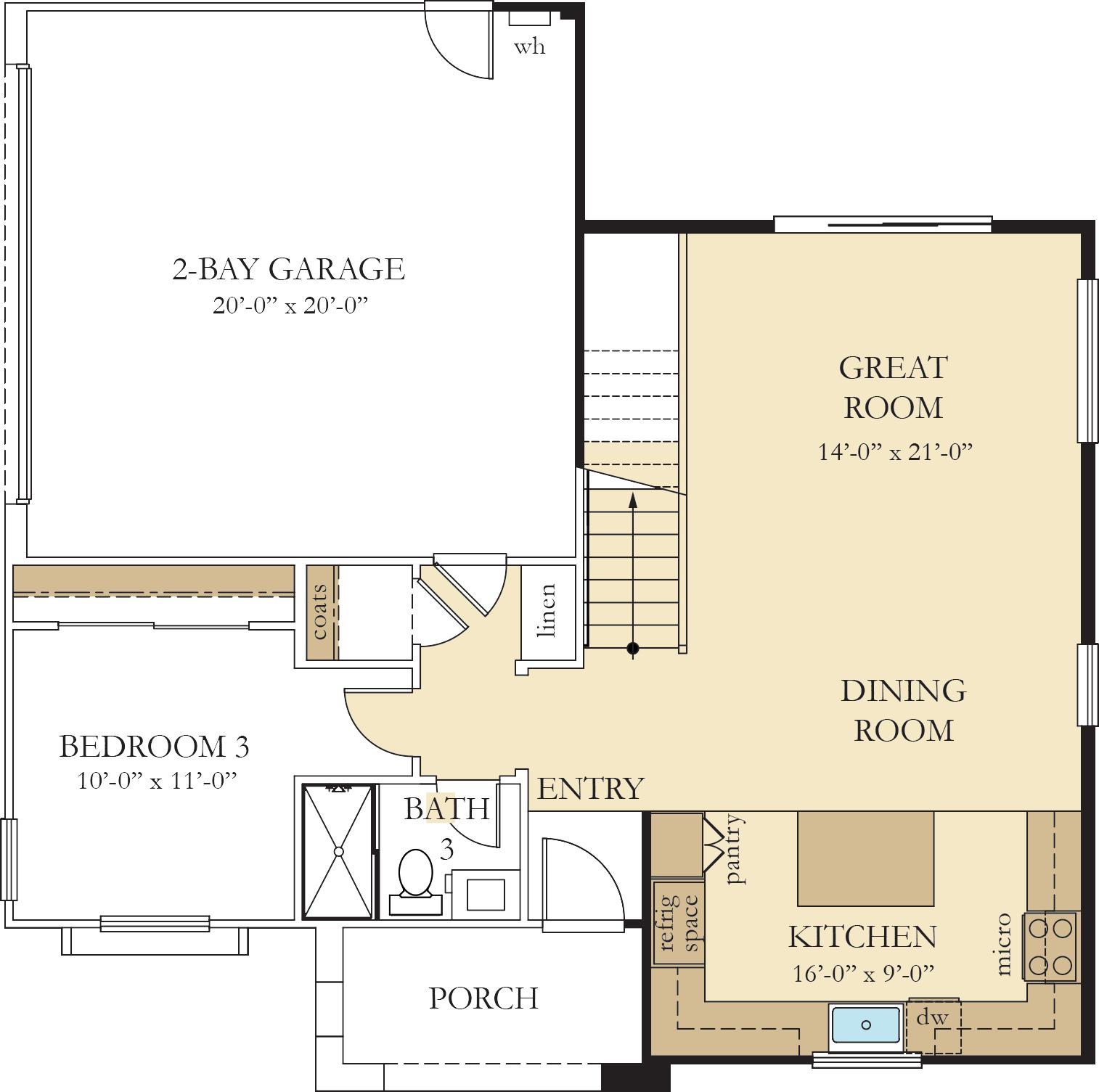 Vinelands   Residence 1 First Floor