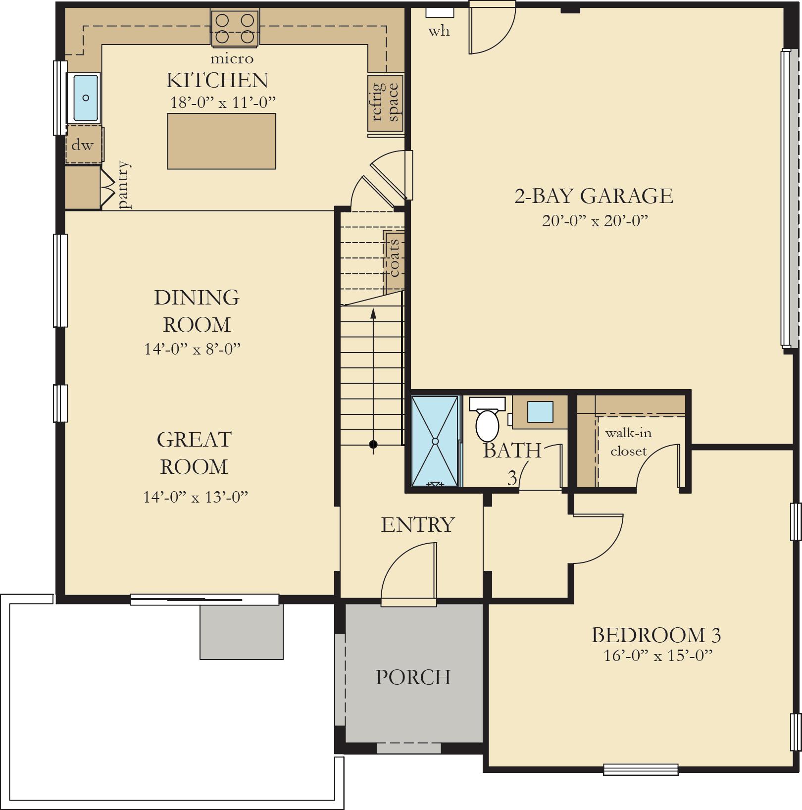 Vinelands | Residence 2 First Floor