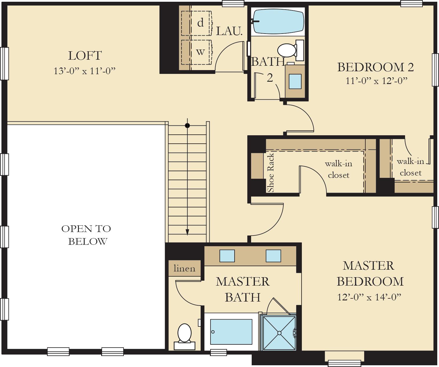 Vinelands | Residence 2 Second Floor