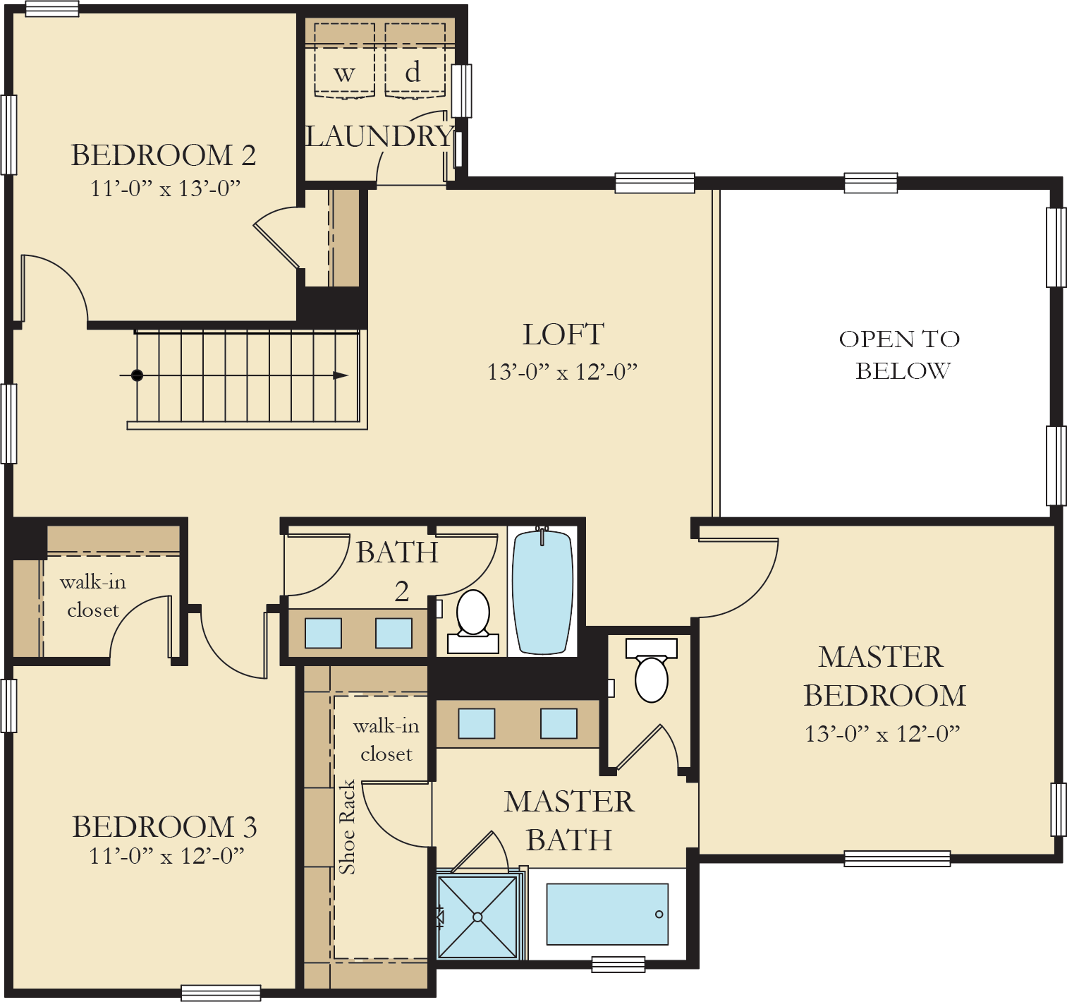 Vinelands | Residence 3 Second Floor