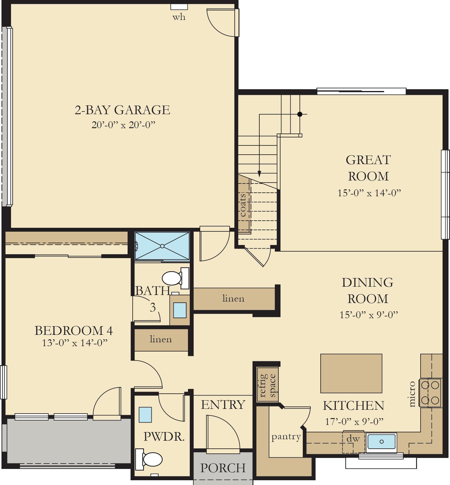 Vinelands | Residence 4 First Floor