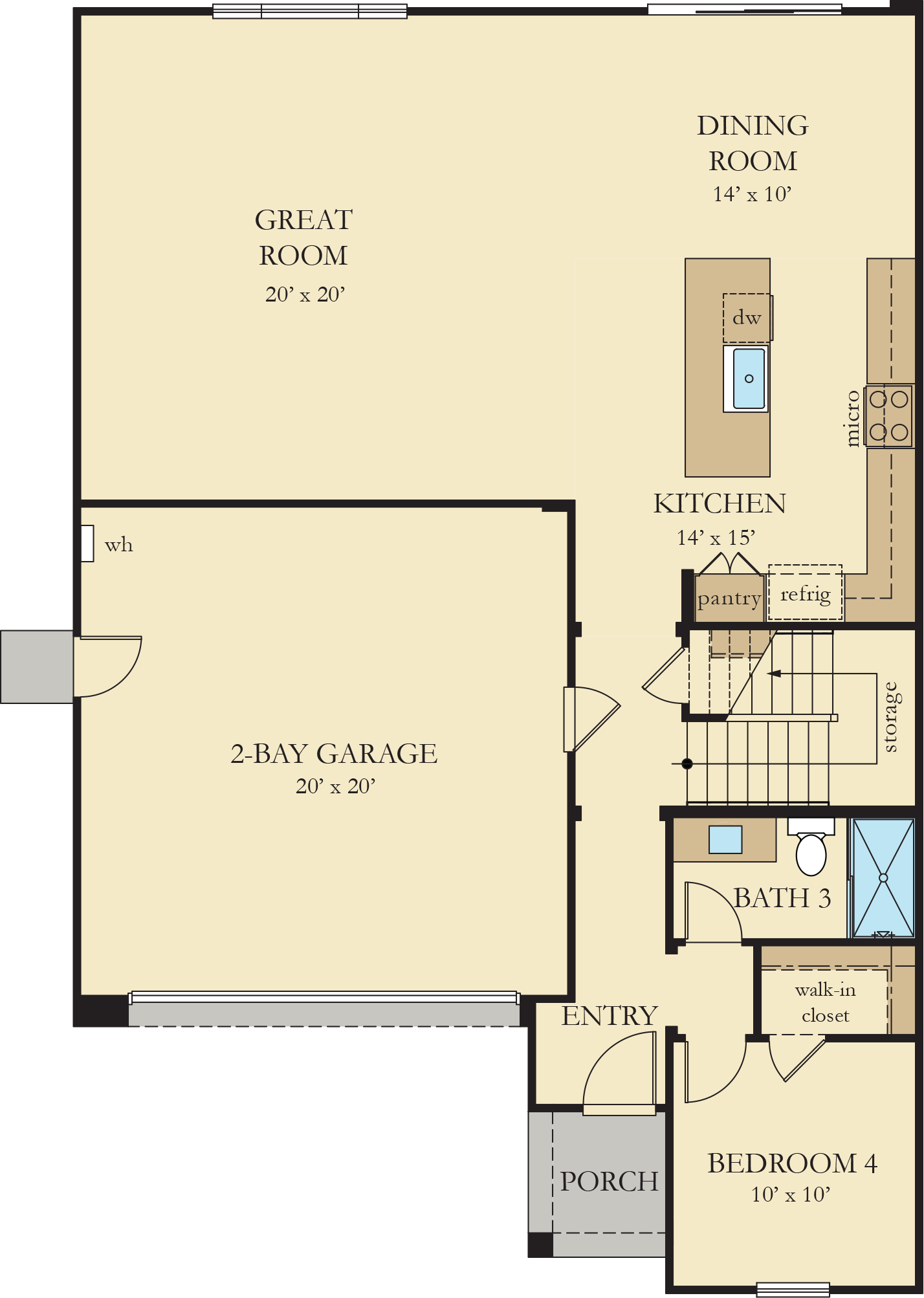 Orchard Heights   Residence 1 First Floor