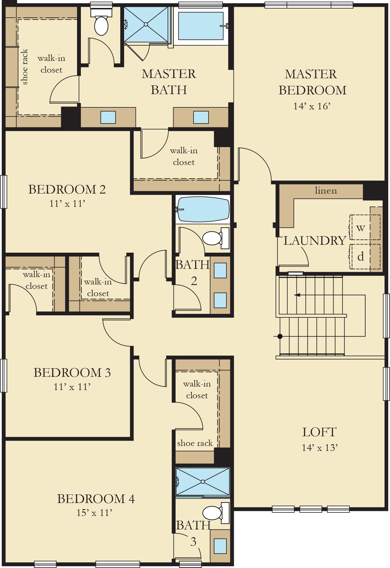 Orchard Heights | Residence 3 Second Floor