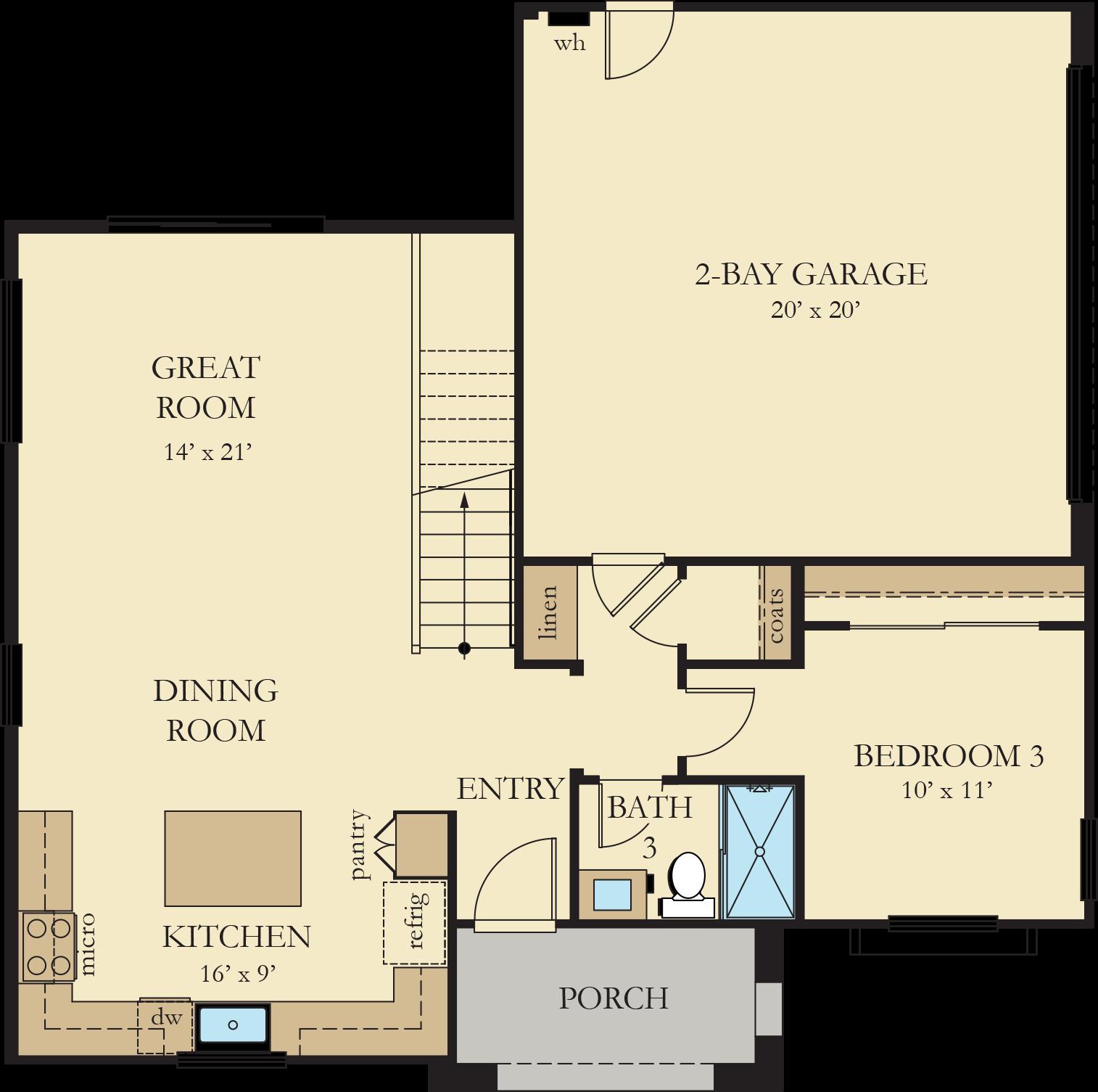 Vinelands | Residence 1 First Floor