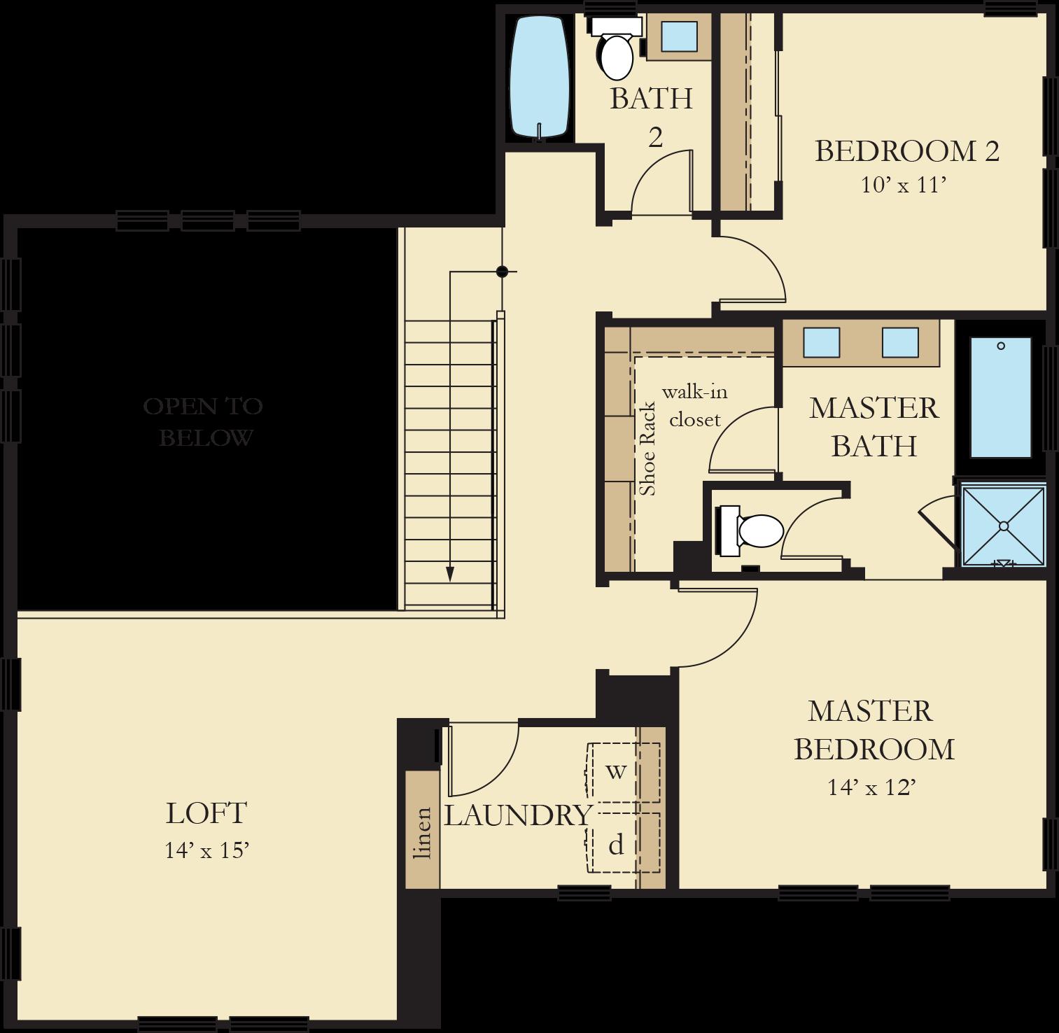 Vinelands | Residence 1 Second Floor