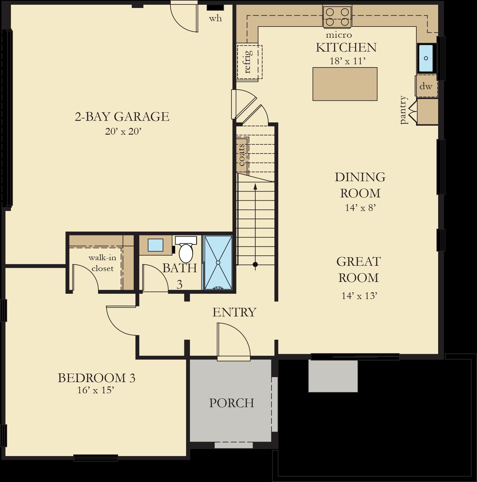Vinelands   Residence 2 First Floor