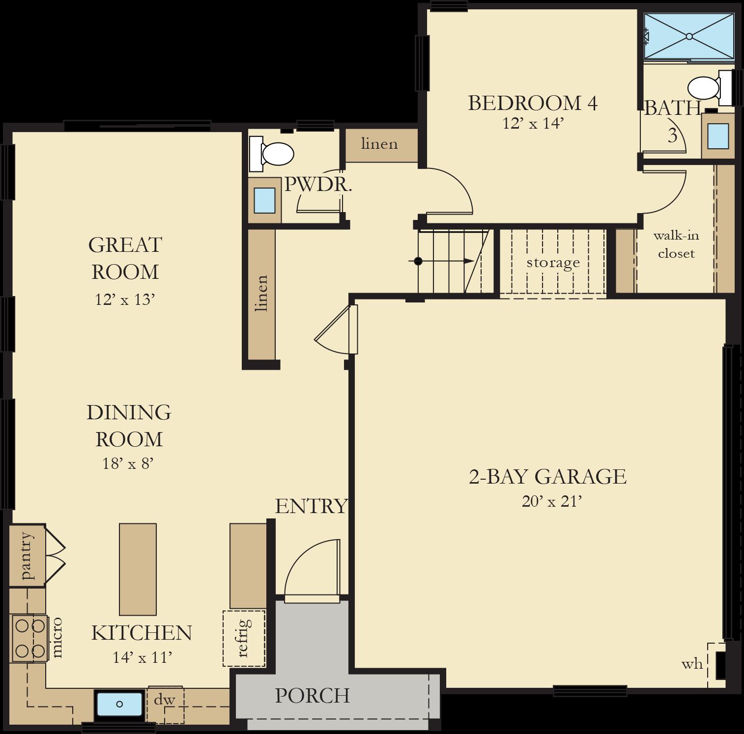 Vinelands   Residence 3 First Floor