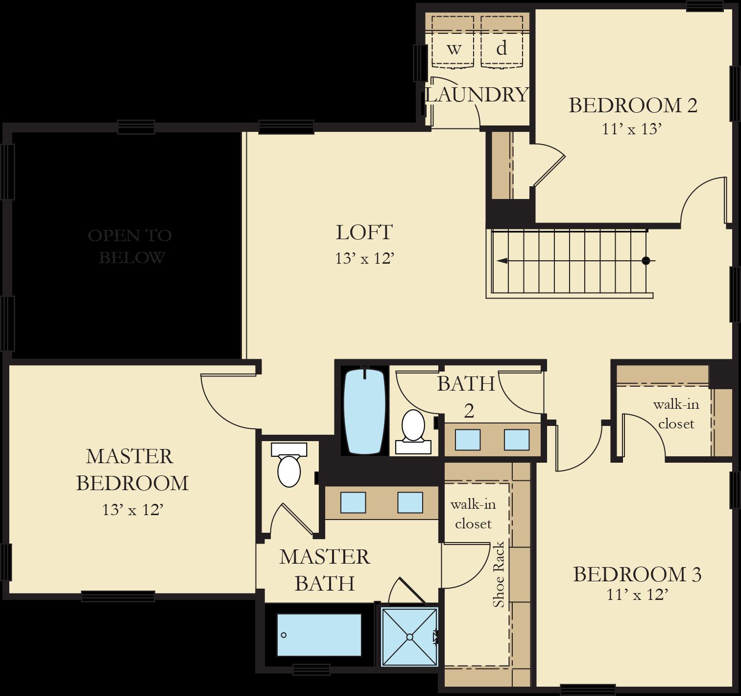 Vinelands   Residence 3 Second Floor