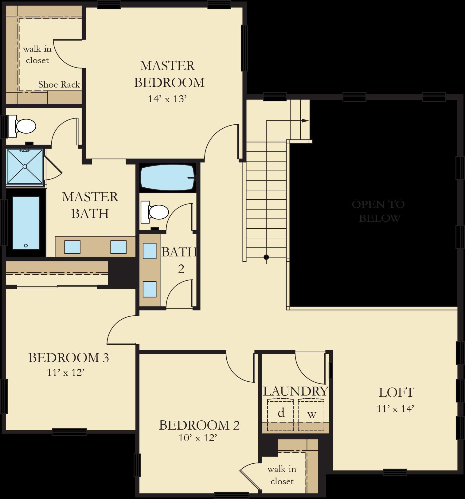 Vinelands | Residence 4 Second Floor