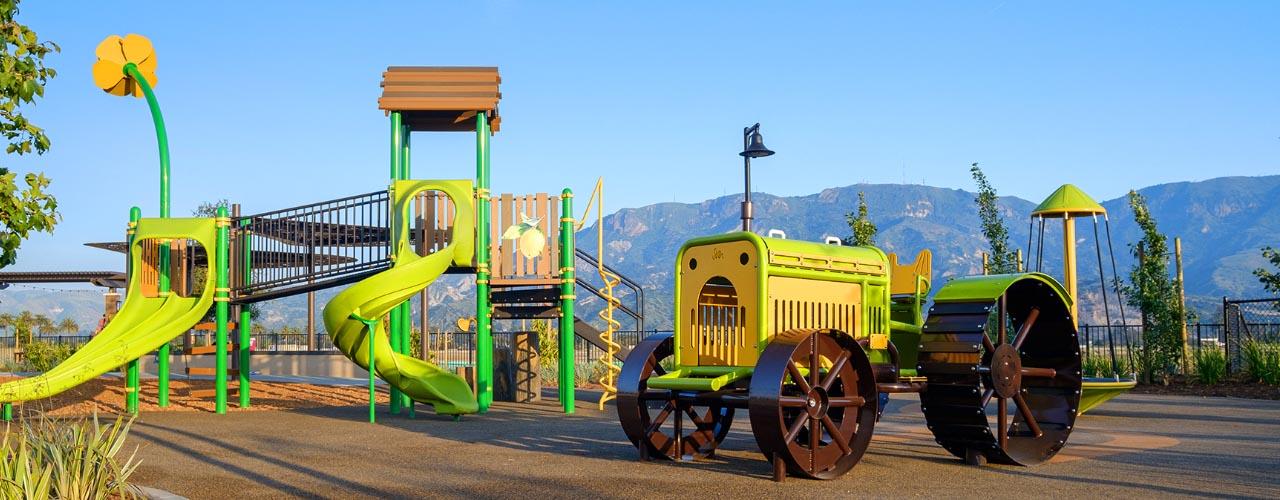 The Farmhouse playground